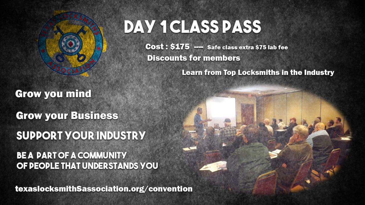 1 Day Class Pass