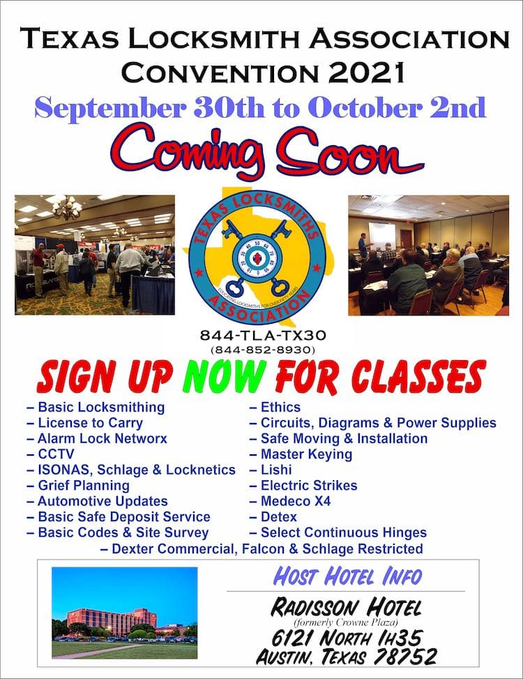flyer with classes