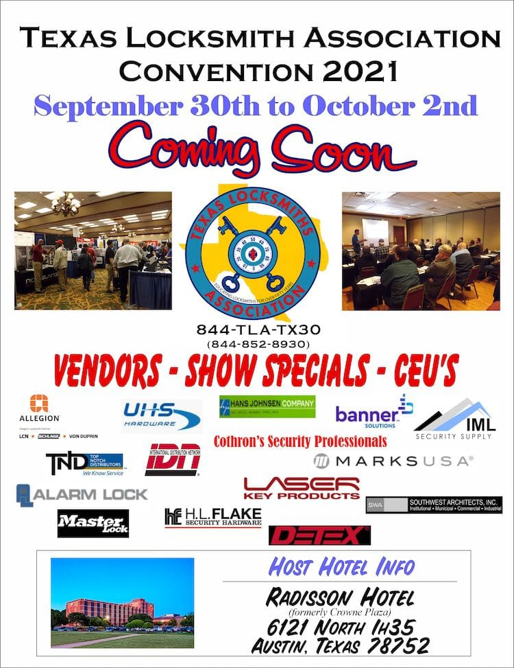 flyer with vendors