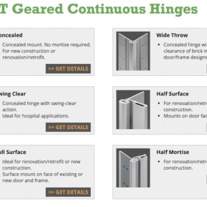 Class 24 – Select Continuous Hinges